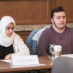 STUDENTS DISCUSSED THEIR EXPERIENCES WITH INCLUSION ON THE CAMPUS AND IN THE CLASSROOM.