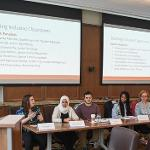 """A DISCUSSION ON """"BUILDING INCLUSIVE CLASSROOMS: FROM HEALTH CARE AND BEYOND"""" INCLUDED A PANEL DISCUSSION."""