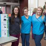 SCENES FROM THE HEALTH FAIR AND POSTER SESSION AT THE IRC