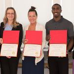 ACADEMIC SERVICE LEARNING HONORED ITS TOP FACULTY AND STAFF.