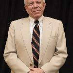 ASSOCIATE PROFESSOR OF MARKETING PAUL JACKSON WAS HONORED FOR 45 YEARS OF SERVICE.