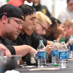 THE QUAD CAFE HOSTED AN END OF THE SCHOOL YEAR WINGS EATING CONTEST.