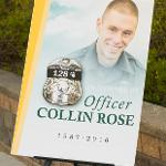 FALLEN OFFICER COLLIN ROSE, A 2010 FERRIS GRADUATE, RECEIVED SPECIAL RECOGNITION.