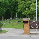 THE FERRIS MAUSOLEUM IS LOCATED AT THE HIGHLAND VIEW CEMETERY IN BIG RAPIDS.