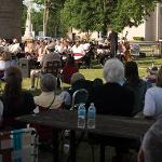 SCENES FROM THE FERRIS COMMUNITY SUMMER BAND CONCERT