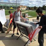POSTER SALE IN THE QUAD