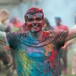 INTERNATIONAL EDUCATION HOSTED THE ANNUAL HOLI FESTIVAL OF COLORS.
