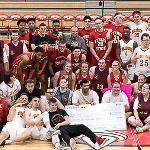THE AREA 5 SPECIAL OLYMPICS BENEFIT BASKETBALL GAME INCLUDED MEMBERS OF THE FSU VARSITY TEAMS.