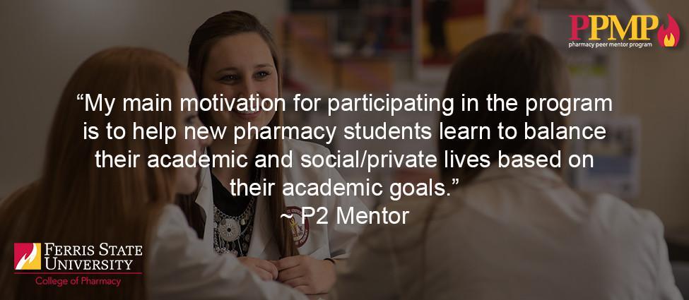 Pharmacy Peer Mentor Program