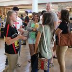 STUDENTS AND THEIR PARENTS ARE GUIDED THROUGH THE ORIENTATION PROCESS BY AN ENTHUSIASTIC ADMISSIONS STAFF.