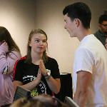 A TOTAL OF 13 ORIENTATION SESSIONS WILL WELCOME NEW STUDENTS PRIOR TO THE START OF FALL SEMESTER CLASSES.