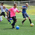 SUMMER CAMPS ARE IN FULL SWING AT FERRIS STATE UNIVERSITY.