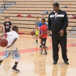 YOUNGSTERS ARE ENCOURAGED TO IMPROVE THEIR INDIVIDUAL SKILLS.