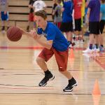 SCENES FROM THE BOYS BASKETBALL SUMMER CAMP