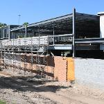 THE ANNEX WILL DOUBLE THE SIZE OF THE WELDING PROGRAM. . .