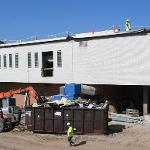 CONSTRUCTION OF THE SWAN ANNEX IS ON SCHEDULE FOR A FALL 2018 COMPLETION.