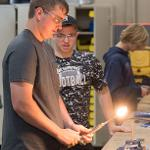 CAMPERS EXPLORE BASIC REFRIGERATION, HEATING EQUIPMENT AND ELECTRONIC CONTROLS.