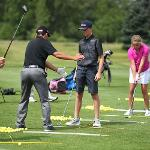 CAMPERS WORK ONE-ON-ONE WITH PGA PROS, FSU COACHES AND VARSITY PLAYERS.