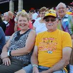 SCENES FROM THE ALUMNI RECEPTION AND BASEBALL GAME IN APPLETON, WISCONSIN
