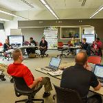 THE FACULTY CENTER FOR TEACHING AND LEARNING HOSTED WORKSHOPS ABOUT BUILDING ACCESSIBLE COURSE CONTENT.