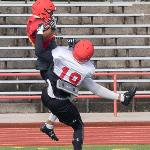 SCENES FROM BULLDOG FOOTBALL PRACTICE