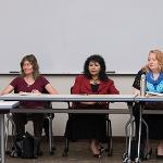 PROFESSOR BARRY MEHLER HOSTED A PANEL DISCUSSION ON THE SHOAH VISUAL HISTORY PROJECT AT FERRIS.