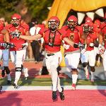 BULLDOG FOOTBALL, RANKED #2 IN THE NATION, TAKES FOR THE FIELD FOR THE HOME OPENER.