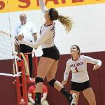BULLDOG VOLLEYBALL, RANKED #7 IN THE NATION, DEFEATED NORTHWOOD, 3-0.