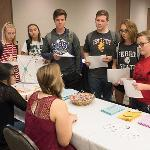 STUDENTS LEARNED ABOUT THE VARIOUS ACADEMIC SUPPORT SERVICES AVAILABLE ACROSS CAMPUS AT THE EVENT.