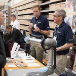 EMPLOYERS EXPLAINED THE MANY INTERNSHIP AND JOB OPPORTUNITIES AVAILABLE TO FERRIS STUDENTS.