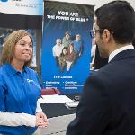 SCENES FROM THE CAREER AND INTERNSHIP FAIR