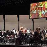 THE FSU SYMPHONY BAND PERFORMED ITS FALL CONCERT AT WILLIAMS AUDITORIUM.