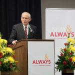 PRESIDENT DAVID EISLER ANNOUNCED FERRIS' FIRST-EVER COMPREHENSIVE FUNDRAISING CAMPAIGN. . .