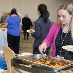 THE WELLNESS PROGRAM HOSTED ITS HEALTH HOLIDAY FOOD TASTING LUNCHEON.