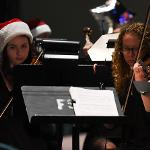 """. . .WHEN THE """"SYMPHONIC SANTA SUNDAY"""" HOLIDAY CONCERT WAS PERFORMED BY THE FSU BANDS AND ORCHESTRA."""