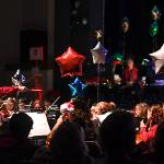 WILLIAMS AUDITORIUM WAS FILLED WITH THE HOLIDAY SPIRIT. . .