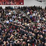 MORE THAN 1,050 STUDENTS GRADUATED, INCLUDING 660 WHO PARTICIPATED IN COMMENCEMENT.