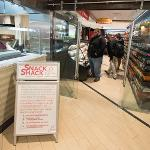 THE NEW SNACK SHACK OPENED AT THE QUAD CAFE.