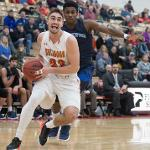 MEN'S BASKETBALL HAS CONTINUED ITS TORRID PACE AND HOLDS A 22-1 RECORD.