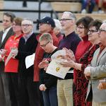 """IT WAS """"FACULTY APPRECIATION NIGHT"""" FOR BULLDOG BASKETBALL AT WINK ARENA."""