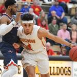THE BULLDOGS OPENED THE POST-SEASON WITH A 113-84 WIN OVER SAGINAW VALLEY. . .