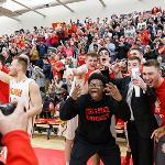A SOLD-OUT CROWD OF 2,434 PACKED WINK ARENA