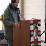 FILMMAKER EDUARDO CHAVEZ, THE GRANDSON OF CIVIL RIGHTS ACTIVIST CESAR CHAVEZ. . .