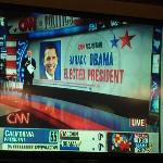 CNN Declares Obama Winner Shortly After 11 PM