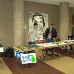 Election Fair Democrats Table