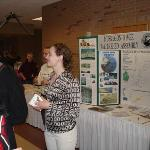 Professor Jennifer Johnson at Muskegon Watershed Table