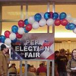Entrance to Election Fair