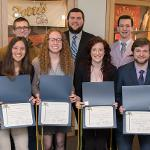 HERE ARE FERRIS' 2018 INDUCTEES TO TAU ALPHA PI, THE NATIONAL HONOR SOCIETY FOR ENGINEERING TECHNOLOGY STUDENTS.