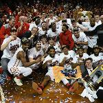 THE BULLDOG MEN'S BASKETBALL TEAM WON THE NCAA DIVISION II NATIONAL CHAMPIONSHIP IN SIOUX FALLS, SOUTH DAKOTA.