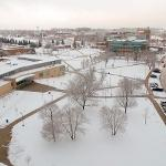 THE APRIL SNOWSTORM, AS RECORDED BY THE FERRIS DRONE